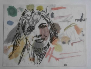 Fire Island Drawings, Untitled (Private), Lee Ranaldo