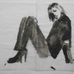 Fire Island Drawings, Untitled (Spikes), Lee Ranaldo